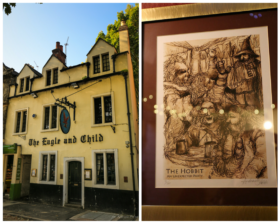 Tolkien's Oxford - a ity of literature. Post by Catherine The Brave